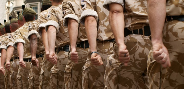 soldiers looking for homes and mortgages